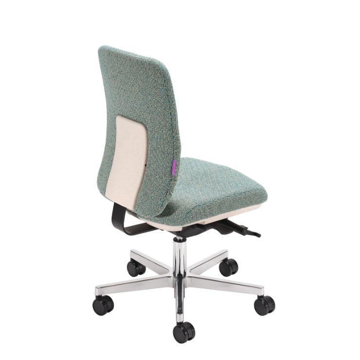 Ergonomischer Bürostuhl Home-Edition Grün hinten
