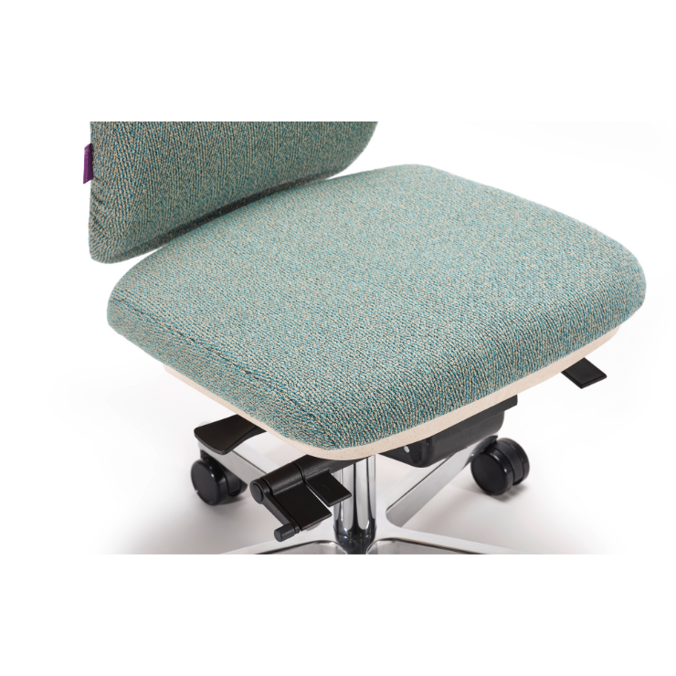 Ergonomischer Bürostuhl Home-Edition Grün Sitzfläche